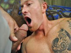 Str8 Uncut Latino Recives Hi First Gay Blow Job
