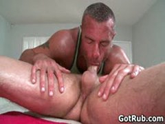 Sexy Dude Get His Amazing Body Massaged And Cock Sucked 6 By GotRub