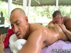 Hot Guy Get His Amazing Body Massaged And Cock Sucked 21 By GotRub