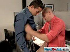 Gay Fucking And Sucking At The Office 19 By HardOnJob