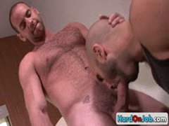 Lucky Guy Gets His Amazing Balls Licked 7 By HardOnJob