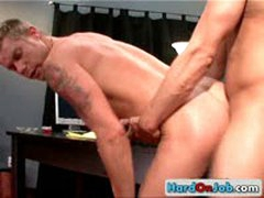 Brad Gets Gay Ass Rimmed 15 By HardOnJob