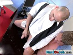 Gay Fucking And Sucking At The Office 11 By HardOnJob