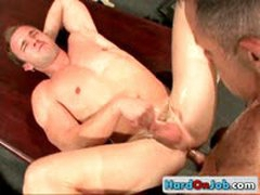 Cock Sucking Action In The Office 15 By HardOnJob