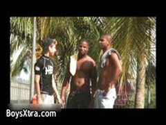 Boy Gets His Tight Anus Rimmed 1 By BoysXtra