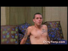 Country Straight Boy Jerks Off