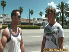 Muscular Gays Having Public Sex In A Supermarket 1 By OutInCrowd