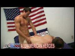 Officer And A Fireman Hot Hot