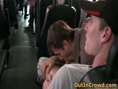 Young Dudes Having Gay Sex In The Bus 2 By OutInCrowd