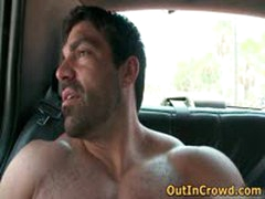 David And Goliath Gays Sucking Cock In Back Of Truck 5 By OutInCrowd