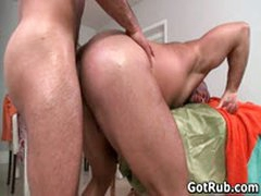 Hot Guy Get His Amazing Body Massaged And Cock Sucked 8 By GotRub