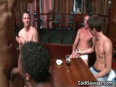 Large Group Of Horny Dudes Go Crazy 6 By CockSausage