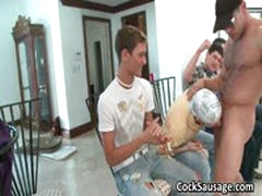 Gay Cock Sausage Party Getting Out Of Hand 4 By CockSausage
