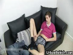 Jamie West Wanking Off His Dick And Plays With Toy 3 By UrbanBritish