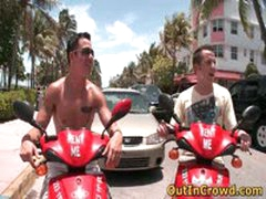Horny Gays On Scooters Have Some Public And Outdoor Sex 5 By Outincrowd