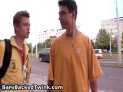 Jerry Friday, Mickey Shut And Kamin Kumina In Steamy Twink Bareback Orgy 3 By BarebackedTwink
