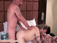 Jack Holden, Peter Axel And Greg York Gay Threesome 11 By Barebackholes