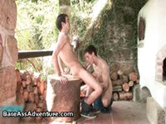 Luke Taylor And Marty Marshall Gay Fucking And Cock Sucking 4 By BareassAdventure