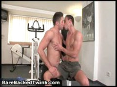 David Begua And Lucky Taylor Hoffman Gay Fucking And Sucking 1 By BarebackedTwink