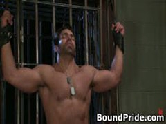 Tyler And Vince Hunky Studs Extreme BDSM Gay Porn 4 BoundPride