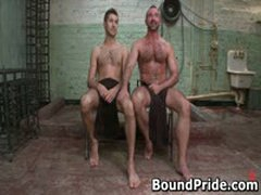 Josh And Kyler Hunky Studs Extreme BDSM Gay Porn 3 BoundPride