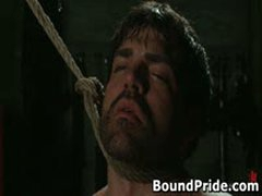 Tyler And Vince Hunky Muscle Gays Extreme BDSM 4 BoundPride