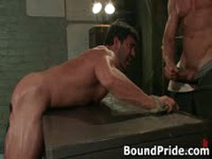 Tyler And Vince Hunky Muscle Gays Extreme BDSM 2 BoundPride