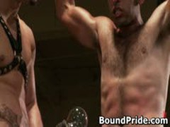 Penix And Gianni Hunky Studs Extreme BDSM Gay Porn 3 BoundPride
