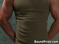 Tyler And Vince Hunky Studs Extreme BDSM Gay Porn 1 BoundPride
