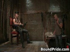 Avery And Leo Hunky Studs Extreme BDSM Gay Porn 1 BoundPride