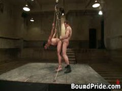 Penix And Gianni Hunky Studs Extreme BDSM Gay Porn 10 BoundPride