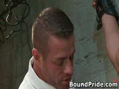 Tyler And Vince Hunky Studs Extreme BDSM Gay Porn 3 BoundPride