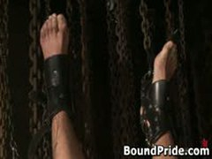 Avery And Leo Hunky Studs Extreme BDSM Gay Porn 4 BoundPride