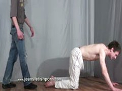 Master Humiliate And Piss In Slave Mouth