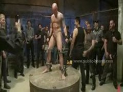 Shaved Strong Gay Fucked In Sado Maso Wild Sex By Extreme Boys In This Gay Bdsm Video