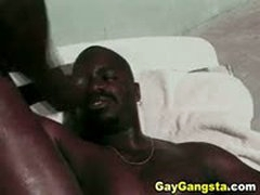 Black Male Lovers Steamy Butt Fucking