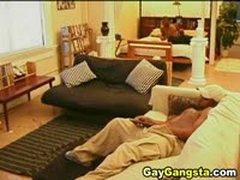 Ebony Gays Enjoy Anal Fucking