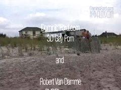Robert Van Damme And Skye Woods