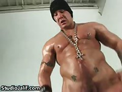 Hard Bodied Homosexual Beast Rob Diesel Wanking His Huge Hardon 3 By StudioJalif