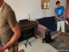Hot College Jock Work Out Eachother