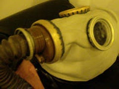 Mummification In Leather Sleepbag