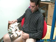 Hot Ex Boyfriend Caught Jerking His Nice Cock 38 By GotExBF