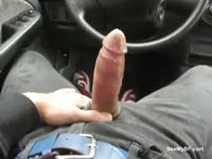 Real Boyfriend Jerking Off His Cock