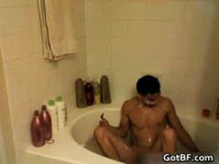 Hot Hunk Jacking Off In The Tub 13 By GotBF