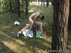 Cute Boys Having Outdoor Gay Porn 6 By HammerBF
