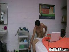 Straight Guy Wanking His Dick On Camera 5 By GotExBF