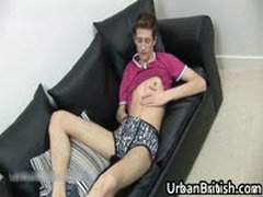 Jamie West Wanking Off His Dick And Plays With Dildo 2 By UrbanBritish