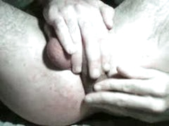 Own Balls And Cock Self Fuck