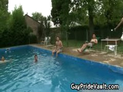 Massive Indoor Gay Gangbang Fucking 3 By GayPrideVault