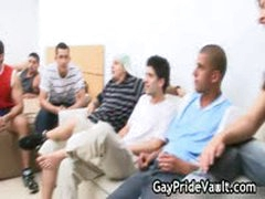 Indoor Gay Orgy Fucking And Sucking 3 By GayPrideVault